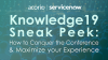 ServiceNow Knowledge19 Sneak Peek: How to Conquer the Conference