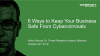 Six Ways to Keep your Business Safe from Cybercriminals (EMEA)