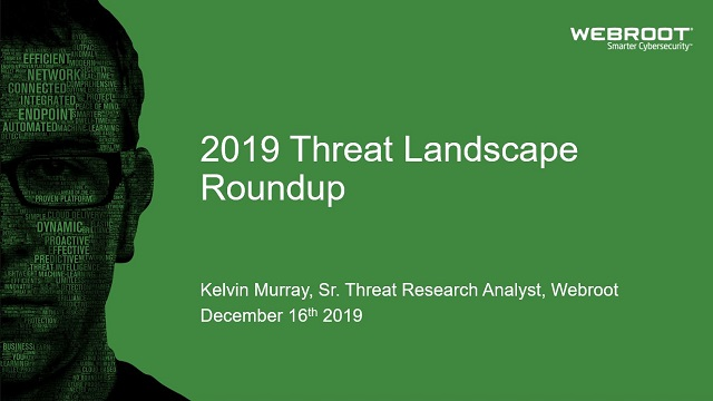 2019 Threat Landscape Roundup
