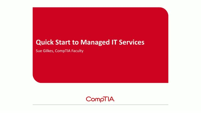 Managing IT Services: Quick Start Guide for MSPs (EMEA)
