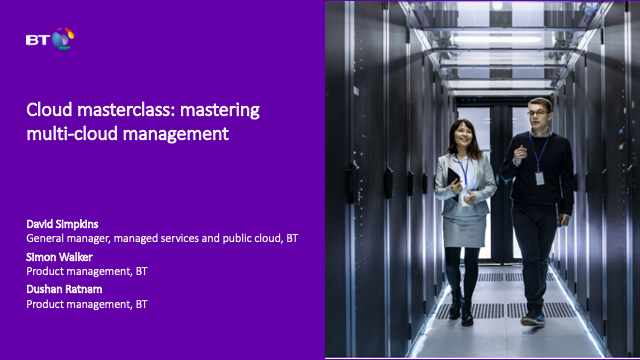 Cloud masterclass: mastering multi-cloud management