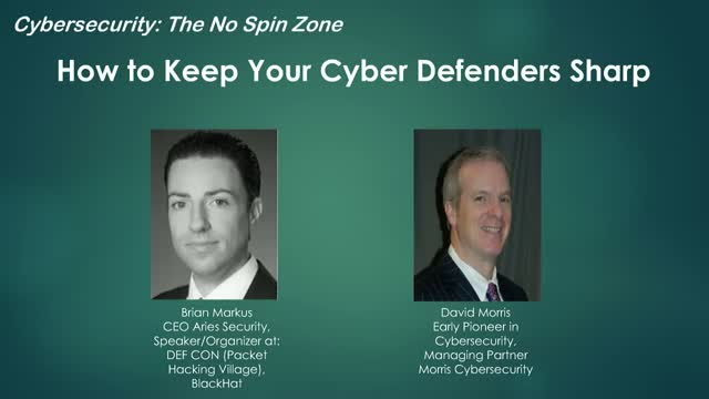 How to Keep Your Cyber Defenders Sharp: Do You have the right people?