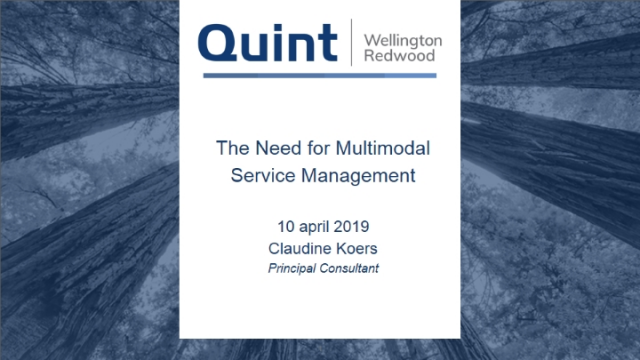 The Need for Multimodal Service Management