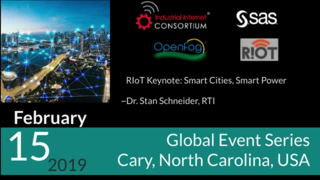RIoT Keynote: Smart Cities, Smart Power