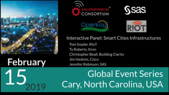 Interactive Panel: Smart Cities Infrastructures