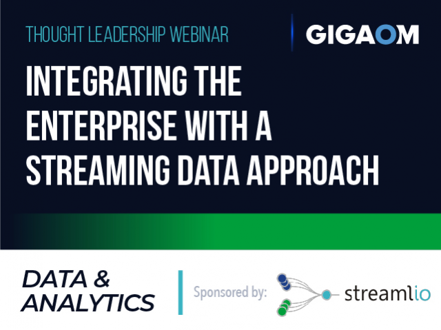 Integrating the Enterprise with a Streaming Data Approach