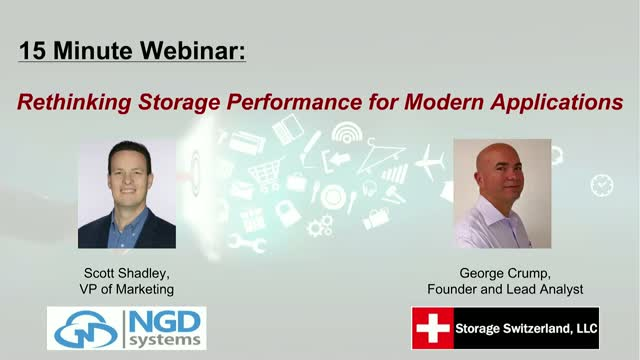 15 Minute Friday: Rethinking Storage Performance for Modern Applications
