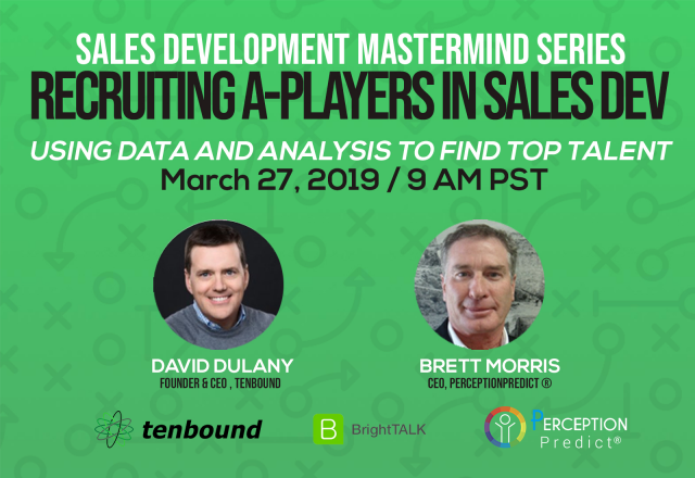 Recruiting A-Players in Sales Development