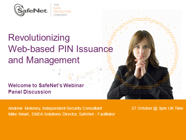 EMEA: Revolutionizing Web-based PIN Issuance and Management