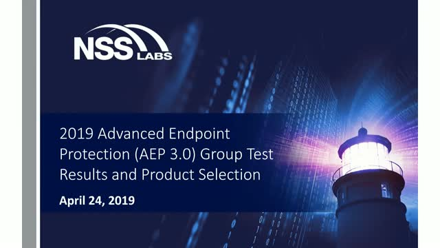 AEP 3.0 Group Test Results
