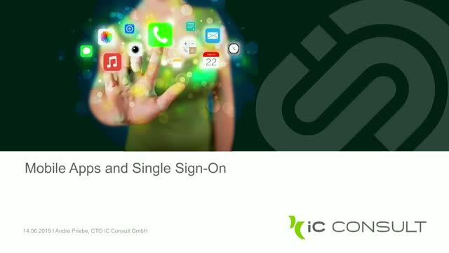 Mobile Apps and Single Sign-On