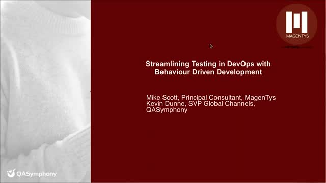 Streamline Testing in DevOps With Behavior Driven Development