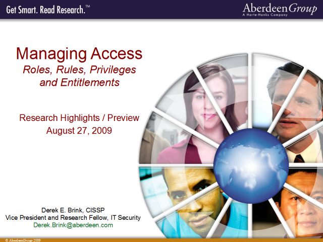 Application Security: Externalizing Identity and Access