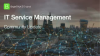 IT Service Management Community Update