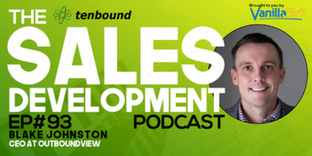 Blake Johnston - Creating a Culture of Experimentation in Sales Development