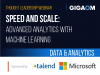 Speed and Scale: Advanced Analytics with Machine Learning