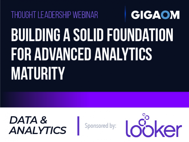 Building a Solid Foundation for Advanced Analytics Maturity