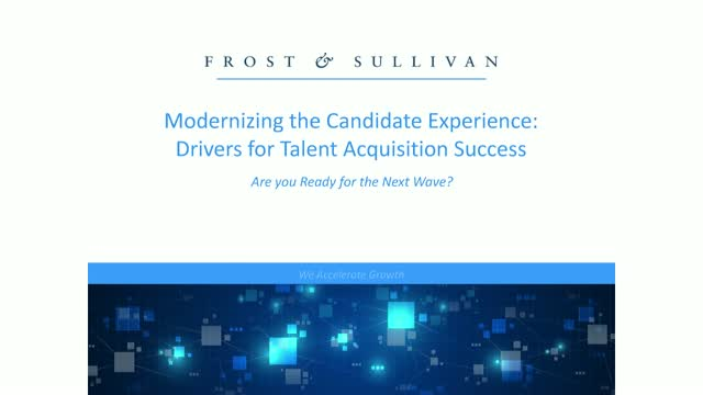 Modernizing the Candidate Experience: Drivers for Talent Acquisition Success