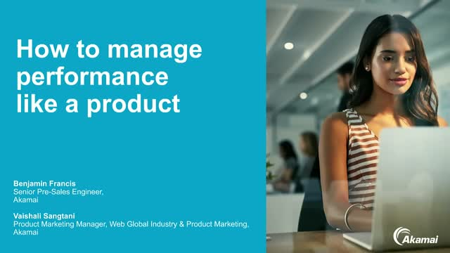 How to manage performance like a product