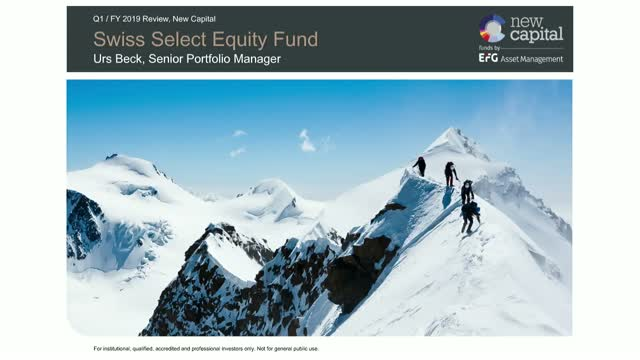 Swiss Select Equity Fund - Q1 update