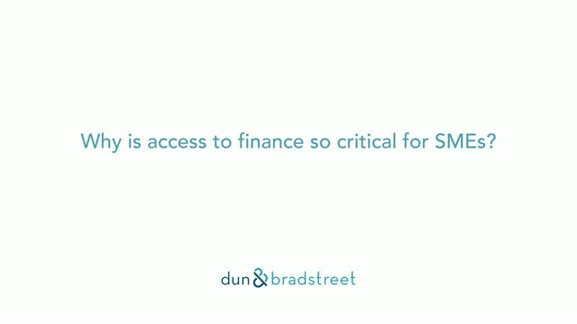 Why is Access to Finance so Critical for SMEs?