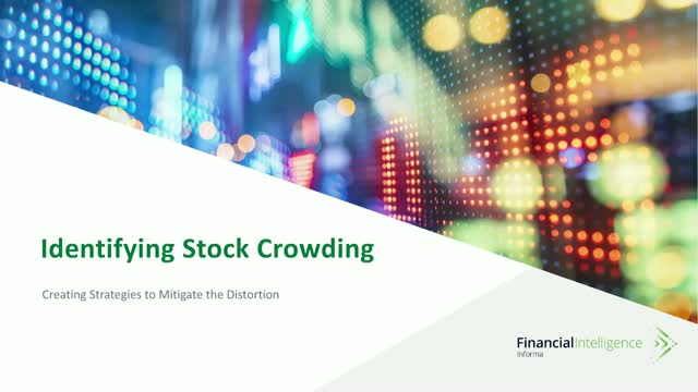 Identifying Stock Crowding and Creating Strategies to Mitigate the Distortion