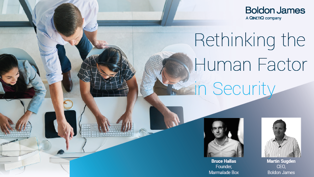 Rethinking the Human Factor in Security