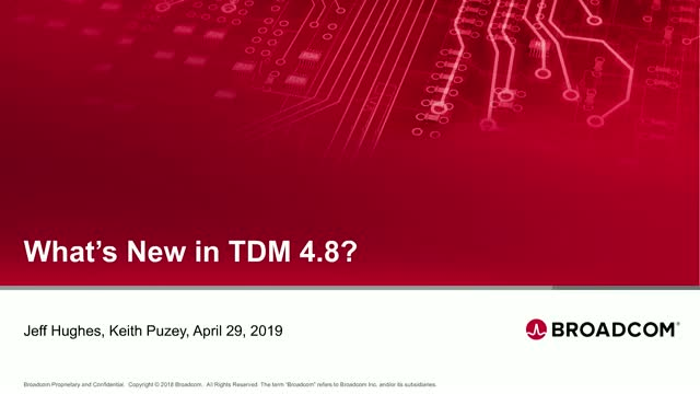 What's New in Test Data Manager (TDM) 4.8?