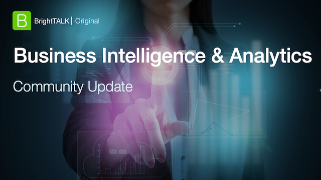 Business Intelligence & Analytics Community Update