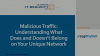 Detecting Malicious Traffic on Your Network