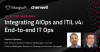 AIOps: Integrating AIOps and ITIL 4: End-to-end IT Ops