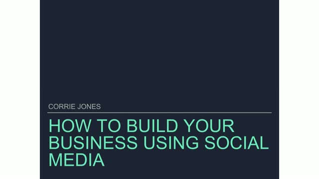 How To Build Your Business Using Social Media