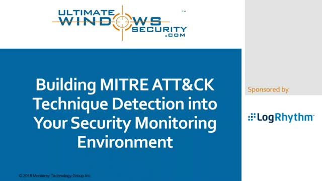 An introduction to MITRE ATT&CK