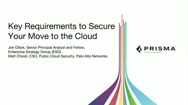 Key Requirements to Secure Your Move to the Cloud
