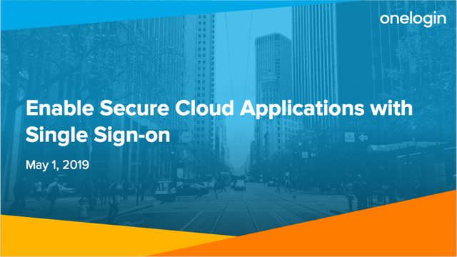 Enable Secure Cloud Applications with Single Sign-on