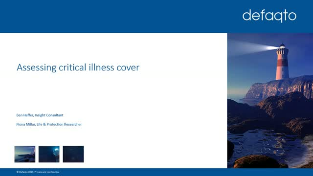 Assessing critical illness cover