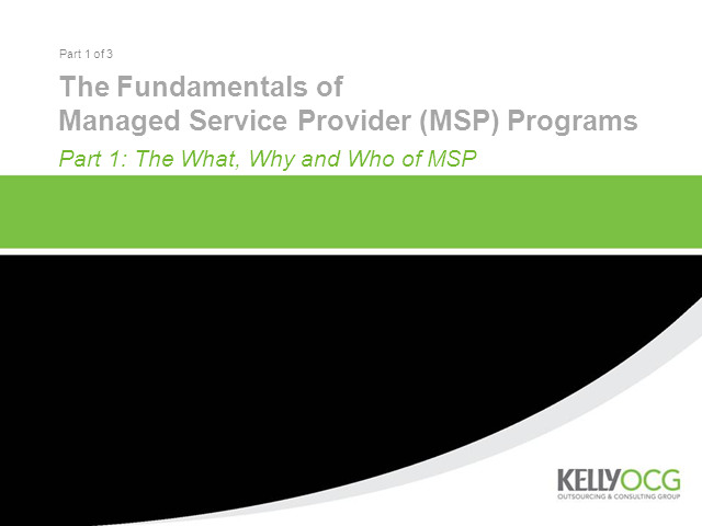 MSP Program Essentials for Europe, Part 1: The What, Who, and Why of MSP