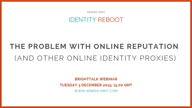 The Problem With Online Reputation (And Other Online Identity Proxies)