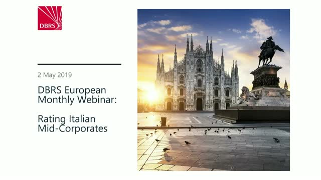 DBRS Webinar: Rating Italian Mid-Corporates