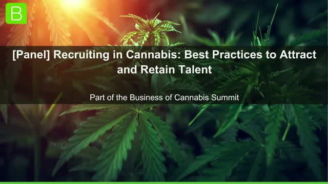 [Panel] Recruiting in Cannabis: Best Practices to Attract and Retain Talent