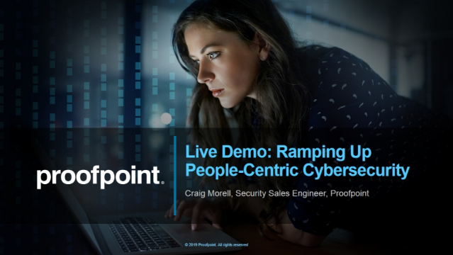Live Demo: Ramping Up People-Centric Cybersecurity