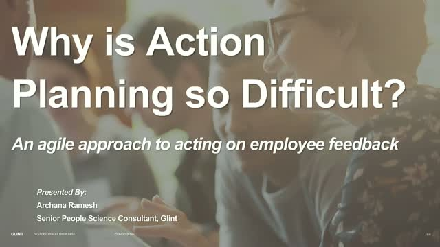 An Agile Approach to Acting on Employee Feedback