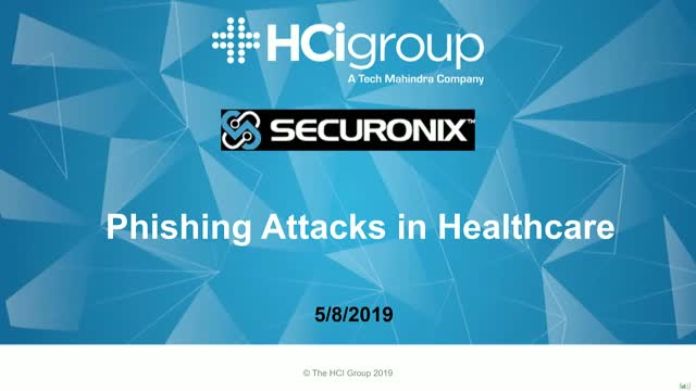 Combat Phishing Attacks in Healthcare Using Next-Gen SIEM