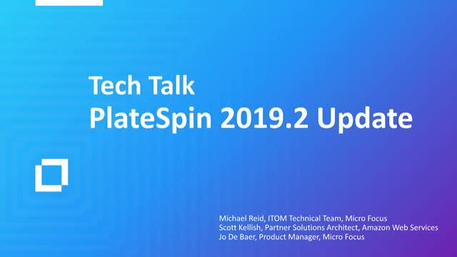 What's New in PlateSpin Migrate 2019.2