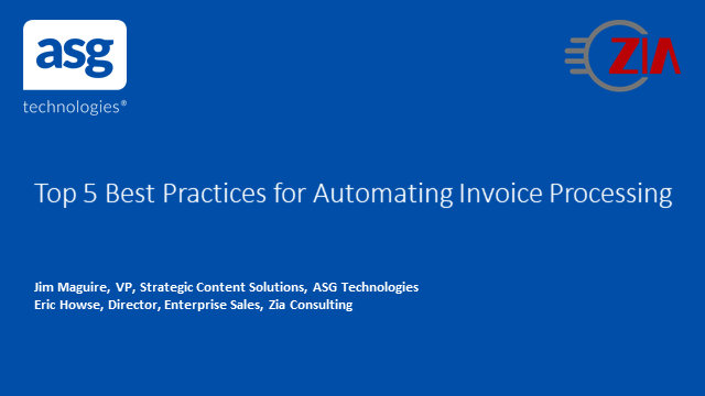 Top 5 Best Practices for Automating Invoice Processing