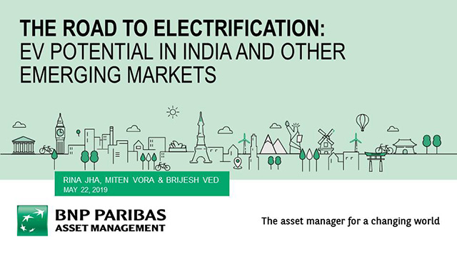 The Road to Electrification: EV potential in India and other Emerging Markets