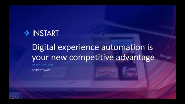 Digital experience automation is your new competitive advantage
