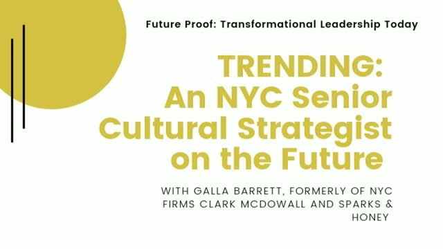 Trending: An NYC Senior Cultural Strategist On the Future