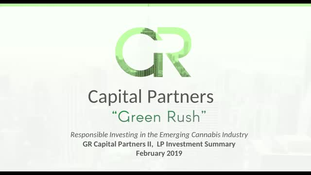 Responsible Investing in the Emerging Cannabis Industry
