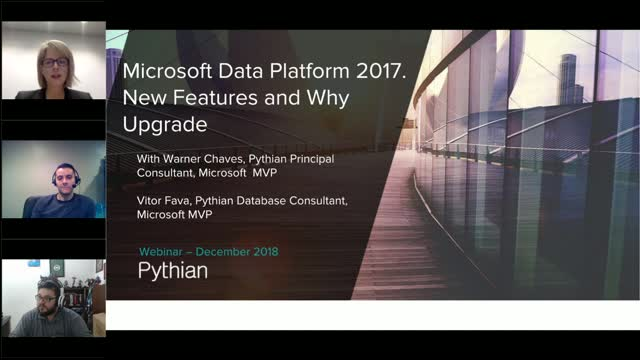 Microsoft Data Platform 2017 New Features and Why to Upgrade